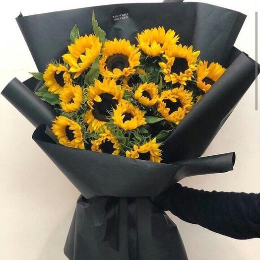 Солнечный гигант: букеты цветов на заказ Flowwow