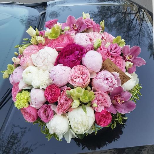 Воздушный флирт: букеты цветов на заказ Flowwow