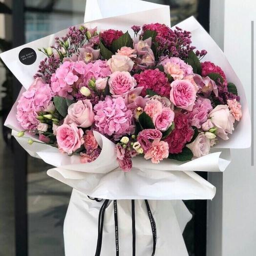 Пинк Гигант: букеты цветов на заказ Flowwow