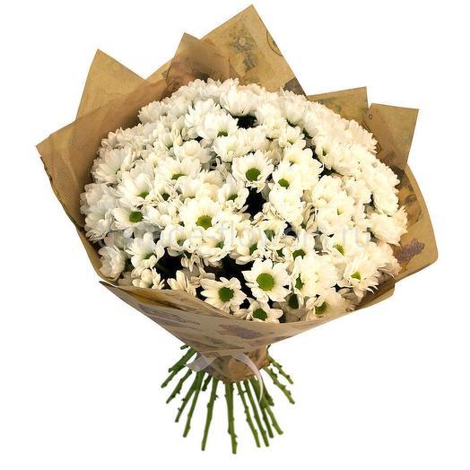 7 хризантем: букеты цветов на заказ Flowwow