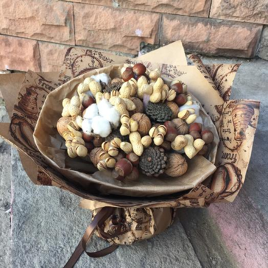 Букет Орех: букеты цветов на заказ Flowwow