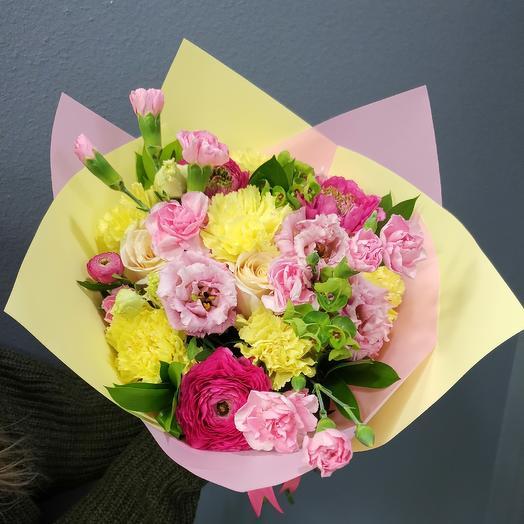 Буйный микс: букеты цветов на заказ Flowwow
