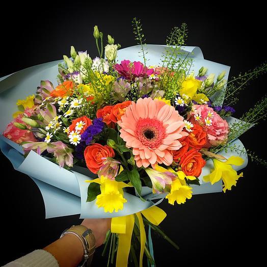 Выглянуло солнце: букеты цветов на заказ Flowwow