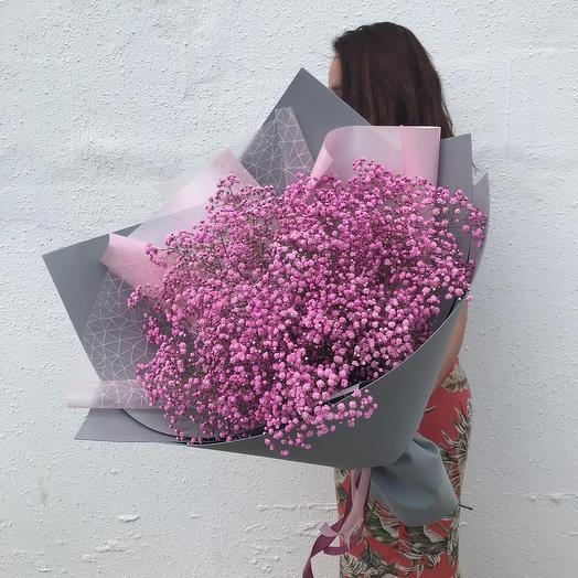 "Объемный букет ""Россыпь аметиста"": букеты цветов на заказ Flowwow"