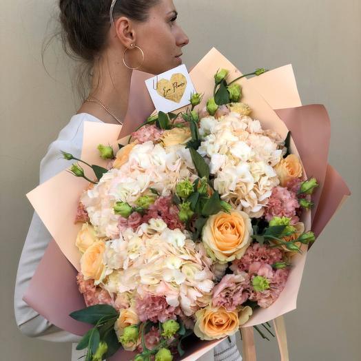 Нюдовый букет: букеты цветов на заказ Flowwow