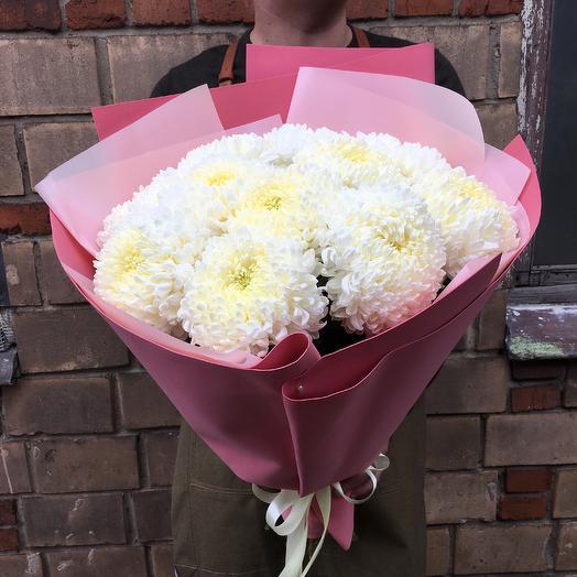 Букет осенних хризантем: букеты цветов на заказ Flowwow
