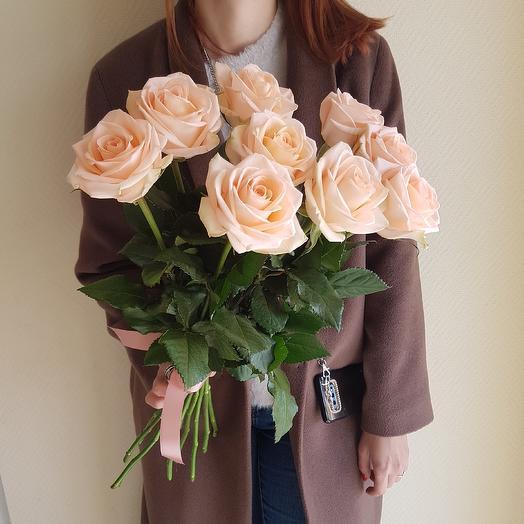 Розы Кения: букеты цветов на заказ Flowwow