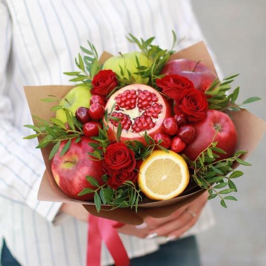 Эпл Джем: букеты цветов на заказ Flowwow