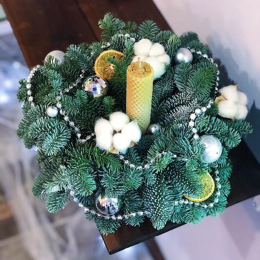 Новогодние настроение: букеты цветов на заказ Flowwow