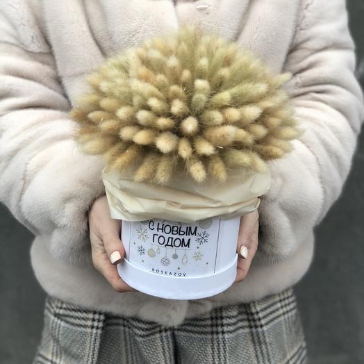 Коробочка Лагураса: букеты цветов на заказ Flowwow