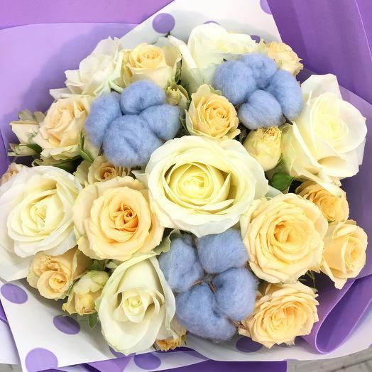 Сливочный Тарт🌸🧁🍰: букеты цветов на заказ Flowwow