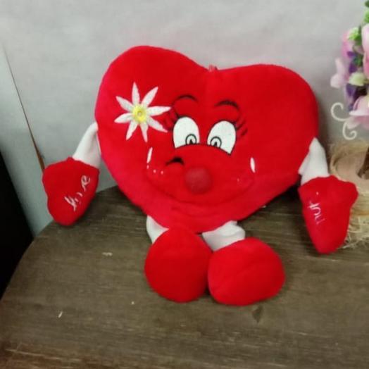 Мягкое Сердце: букеты цветов на заказ Flowwow