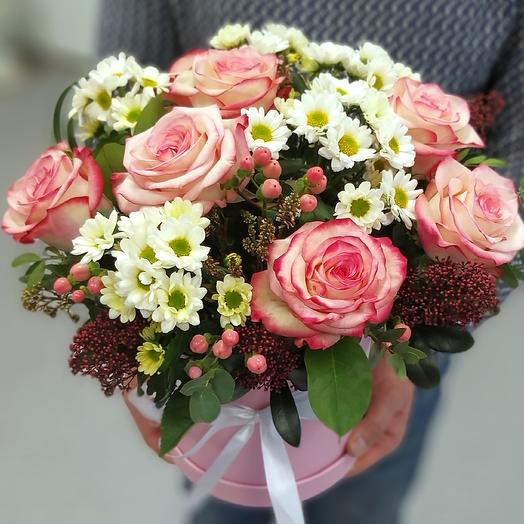 Коробка Для Любимой: букеты цветов на заказ Flowwow