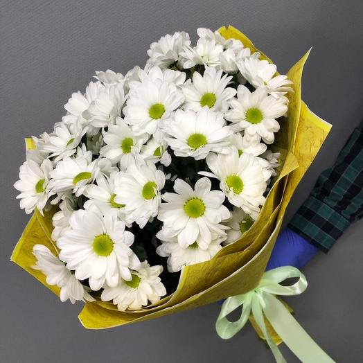 Хризантемы белые: букеты цветов на заказ Flowwow
