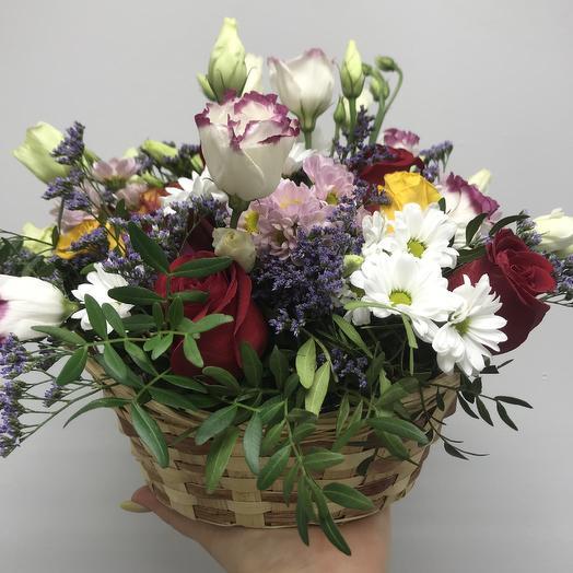 Корзина настроение: букеты цветов на заказ Flowwow