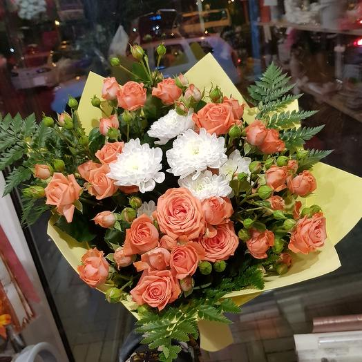Букет романтика: букеты цветов на заказ Flowwow