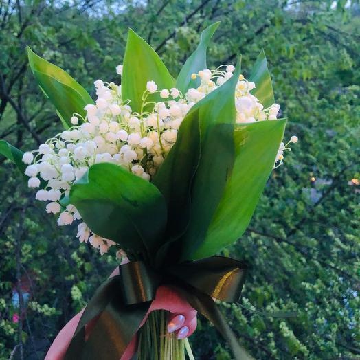 Букет из ландышей: букеты цветов на заказ Flowwow