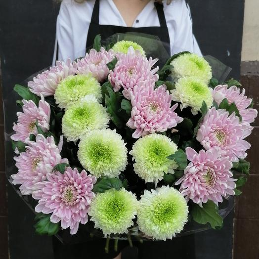Ароматная хризантема микс: букеты цветов на заказ Flowwow