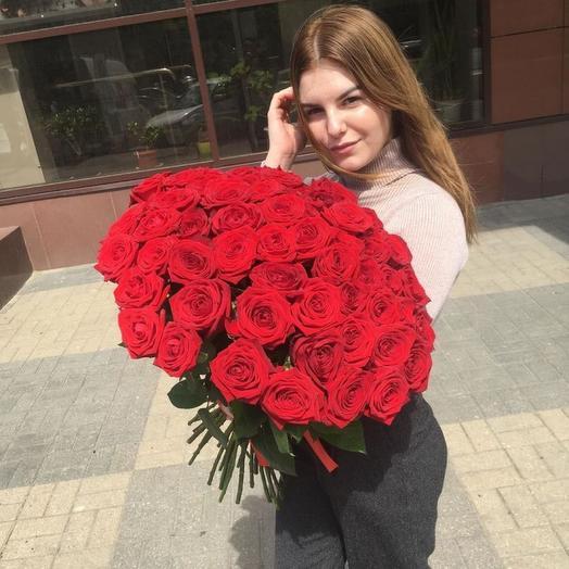 Тина - 51 Ароматная Бордовая Роза