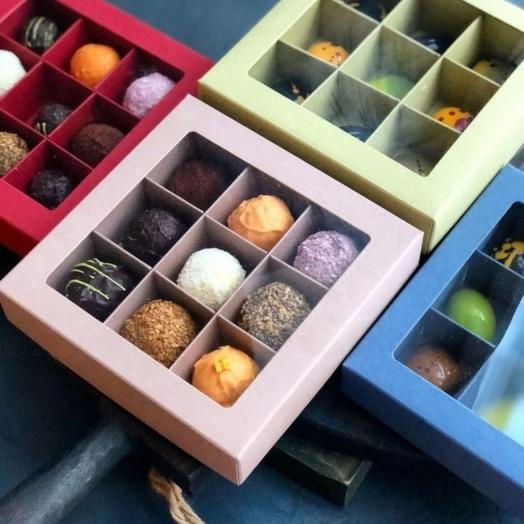 Коробка трюфелей