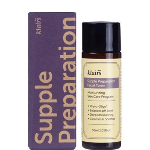 Тонер с бета-глюканом и гиалуроновой кислотой Dear, Klairs Supple Preparation Facial Toner