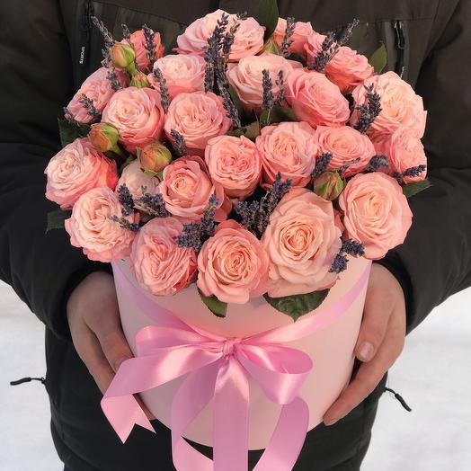 Нежные пионовидные Розы