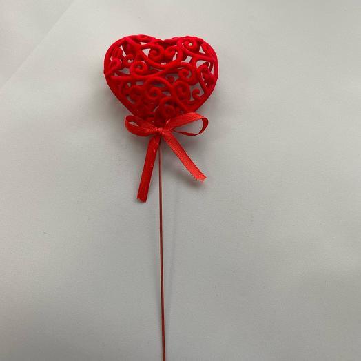Топпер «Кружевное Сердце»