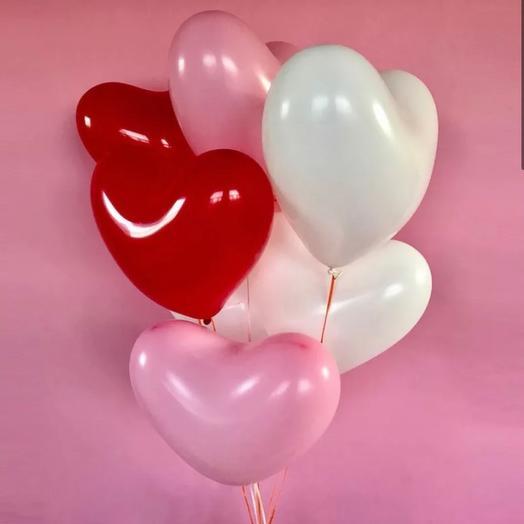 Шарики «сердце»