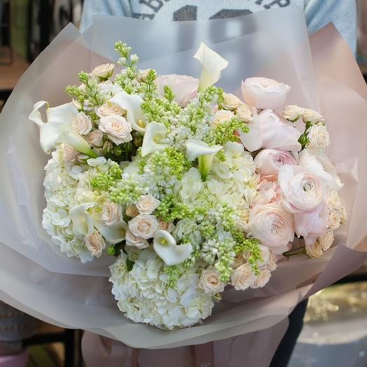 Букет цветов Богемный