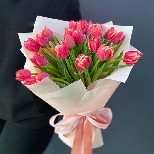 Тюльпан пионовидный 21 шт