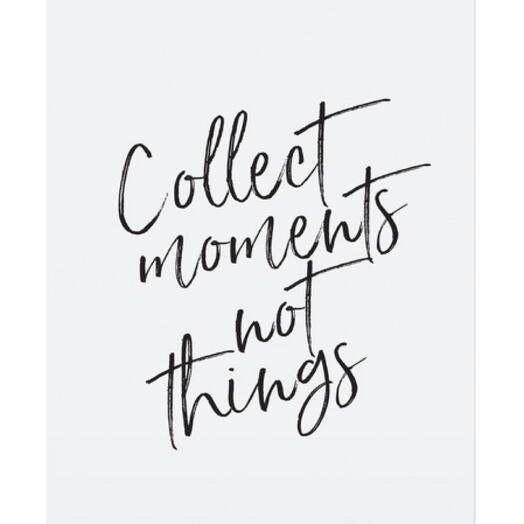 """Постер """"COLLECT MOMENTS"""""""