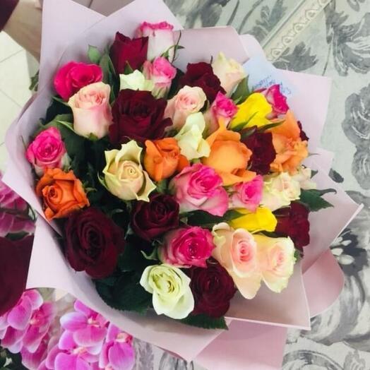 Невысокие розы