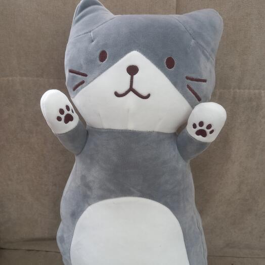 Игрушка подушка котик