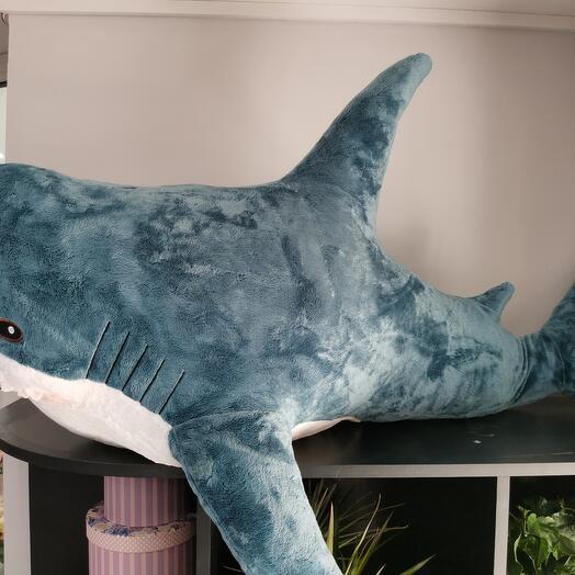 Мега акула подушка