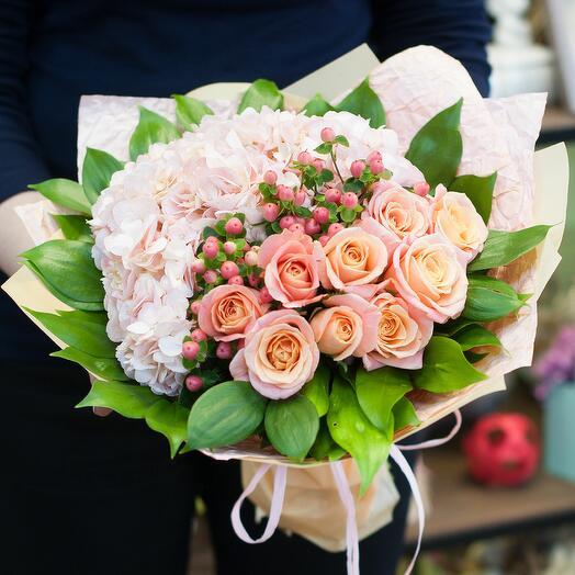 Букет цветов Мокка