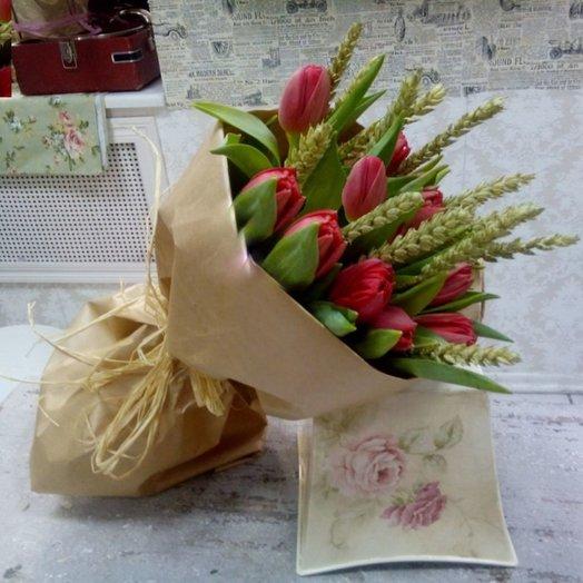 Сезонный привет: букеты цветов на заказ Flowwow