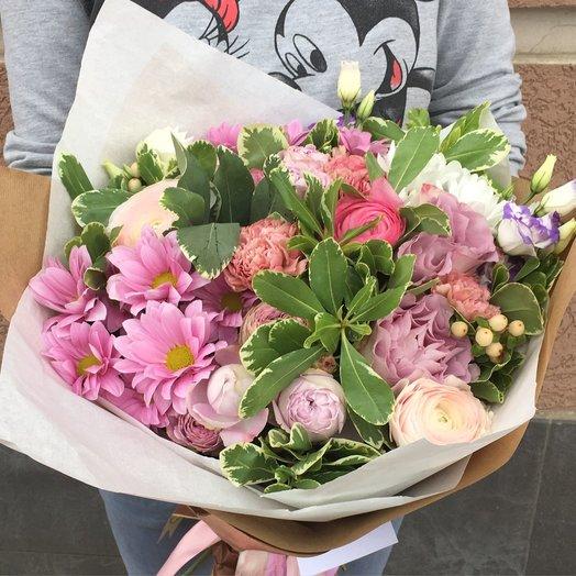 Букет 243: букеты цветов на заказ Flowwow