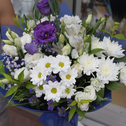 Фиолетовый блонд: букеты цветов на заказ Flowwow