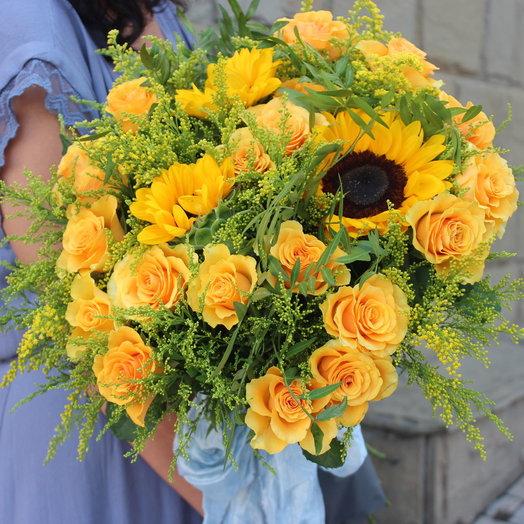 Букет Солнечное Утро: букеты цветов на заказ Flowwow