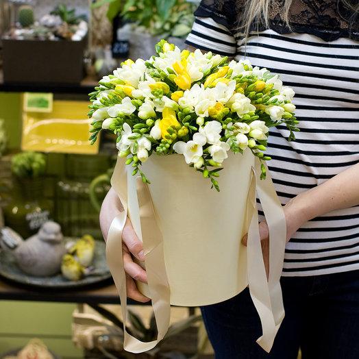 """Букет из фрезий """"Freesia"""": букеты цветов на заказ Flowwow"""