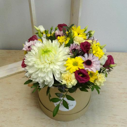 Шляпная коробка12: букеты цветов на заказ Flowwow
