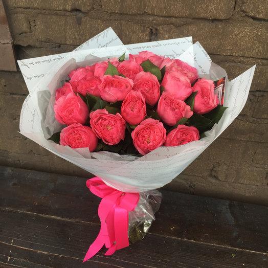 23 пионовидные розы Дэвида Остина: букеты цветов на заказ Flowwow