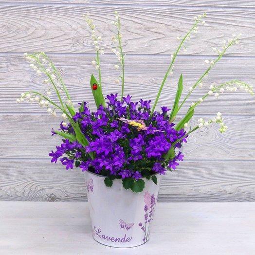 Колокольчики и ландыши: букеты цветов на заказ Flowwow