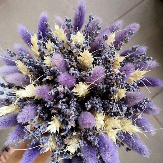 Лилово-лавандовый букет: букеты цветов на заказ Flowwow