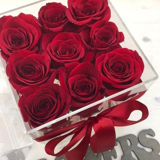Алые сны: букеты цветов на заказ Flowwow