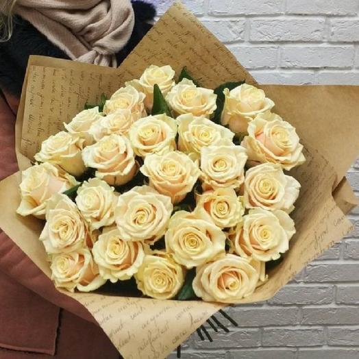 """Букет """"Ваниль"""": букеты цветов на заказ Flowwow"""