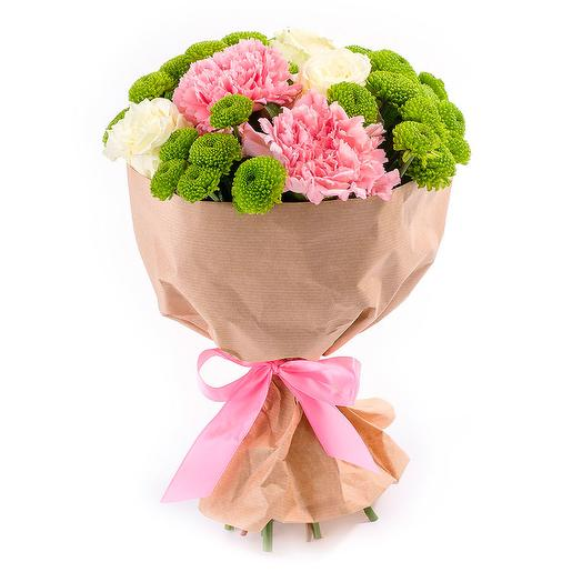 "Букет в крафте ""ЛЕТНИЙ"": букеты цветов на заказ Flowwow"