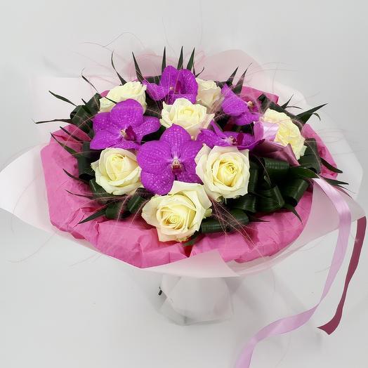 Ванда Кэнди Пинк: букеты цветов на заказ Flowwow