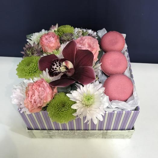 Сладости-радости: букеты цветов на заказ Flowwow