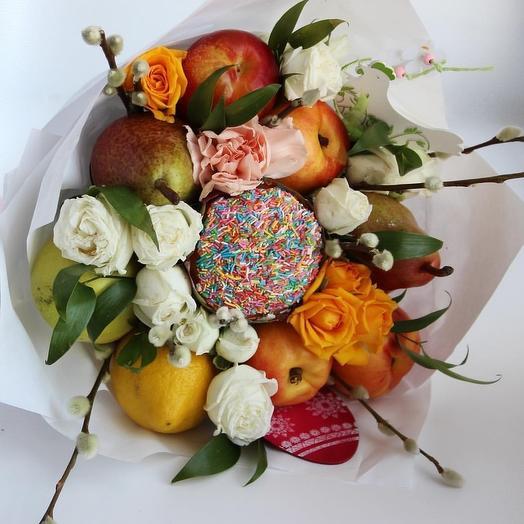 Светлый праздник: букеты цветов на заказ Flowwow